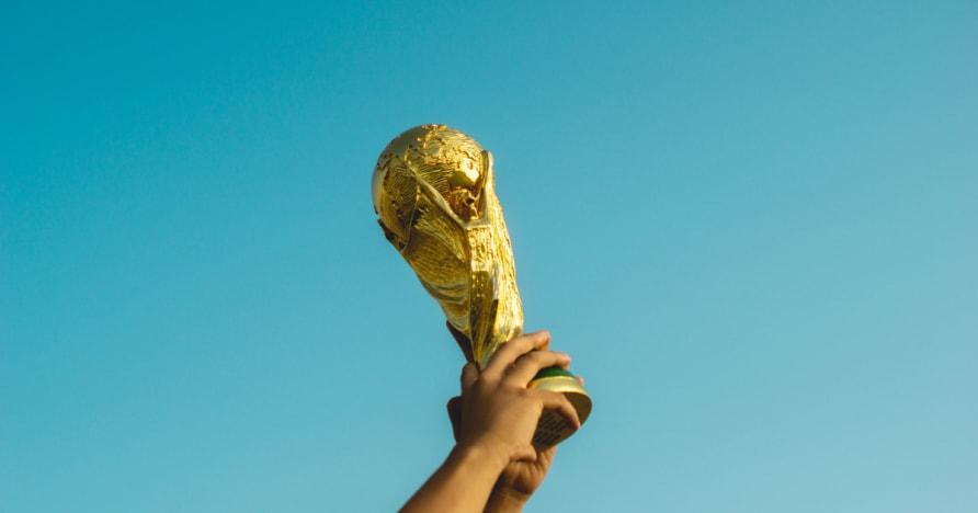 Как Кубок мира по футболу Затронутого Макао игорных запасов