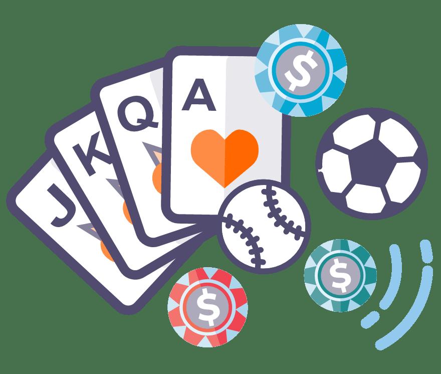 Лучшие Онлайн-казино в которых есть Sports Betting в 2021 году