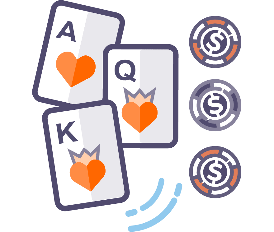 Лучшие Онлайн-казино в которых есть Трехкарточный покер в 2021 году